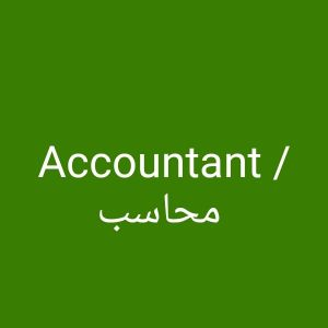 Accountant /Cost Controller