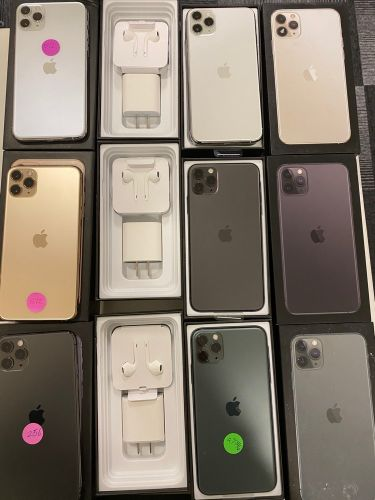 iPhone pro Max 512gb new open box