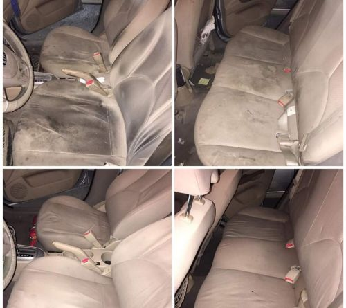 CAR INTERIOR WASHING AVAILABLE