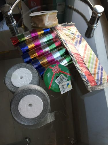 Tapes and wrapping items