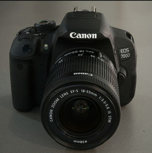Canon 700d + lenses + equipments