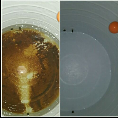 Cleaning and washing water tanks