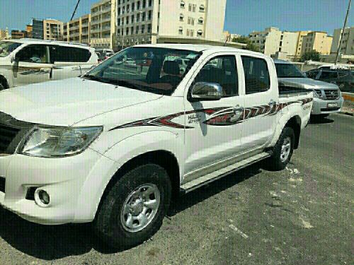 Hilux 4*4 2014 for sale