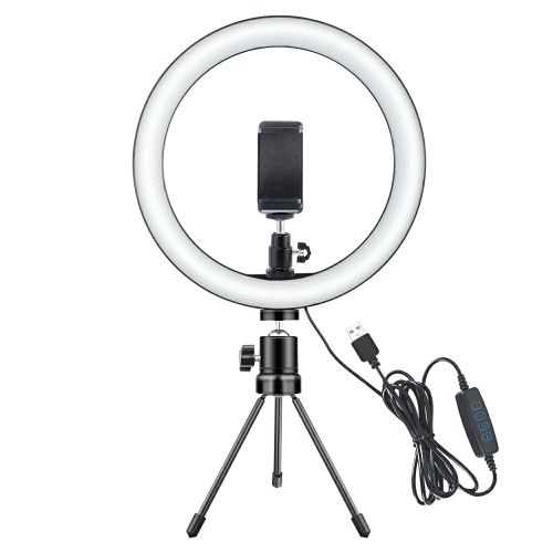 ring light or mobile stand