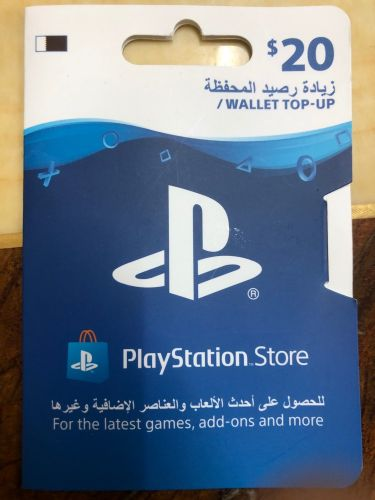‏Playstation Network cards