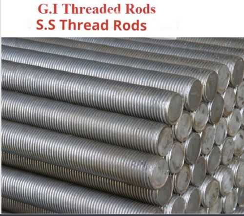 Galvanized and ss threadrod,chain