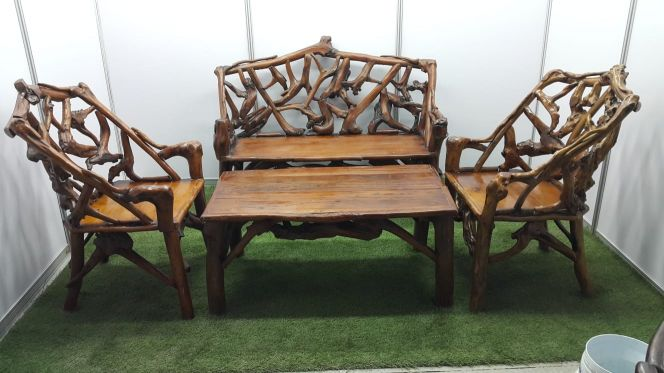Ntaural wooden Tables & Chairs