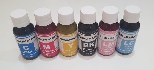 sublimation ink heat printing