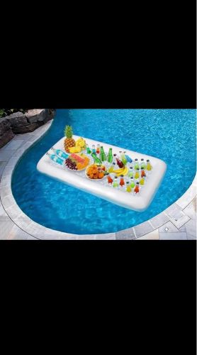 Inflatable ice cooler