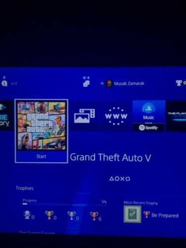Ps4 account with games