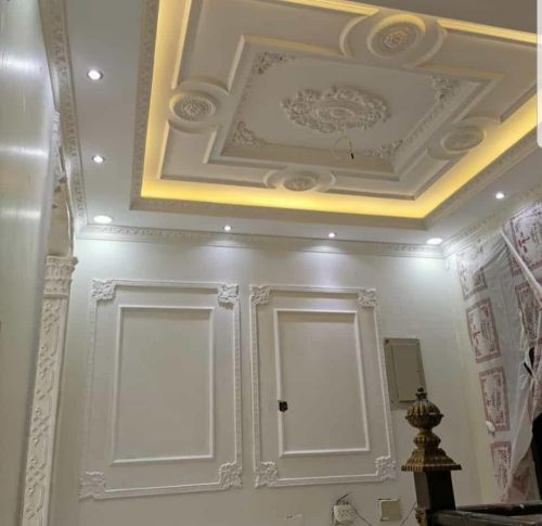 gypsum and paint work