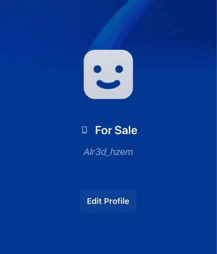 This account for sale
