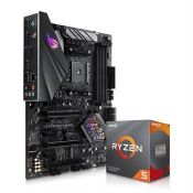 Motherboard with processor
