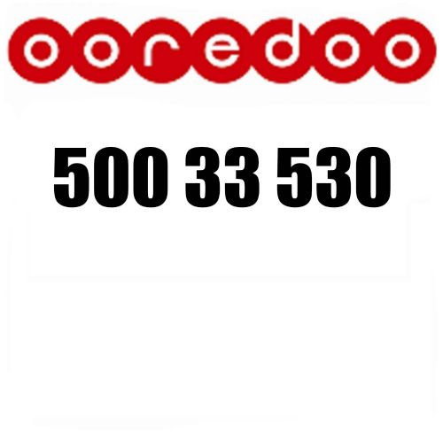 Ooredoo very special number