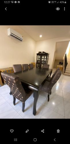 dining room from the one