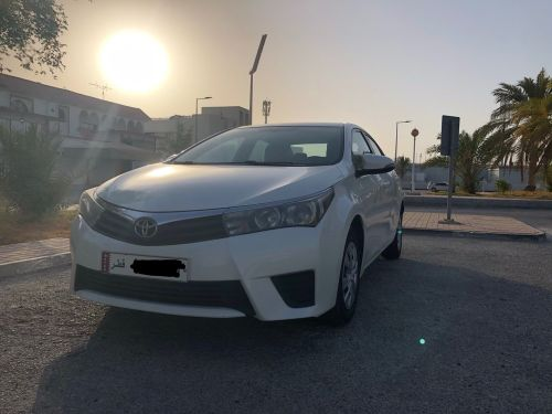 Corolla 2014 second owner