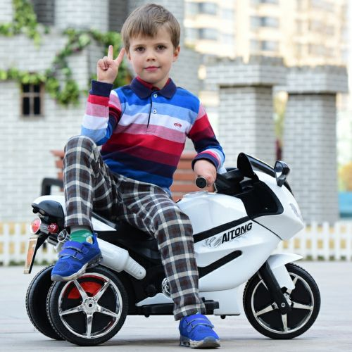 Baby motorcycle.