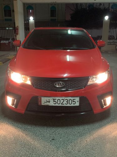 Cerato coupe low milage