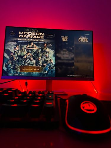 Gaming mouse and keyboard