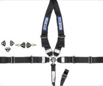 SPARCO SEAT BELT 5 POINTS