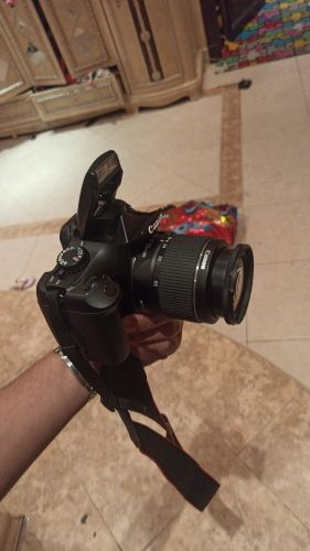 Canon D1100 with 2 lens