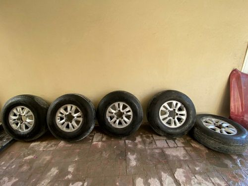 land cruiser rims and tire