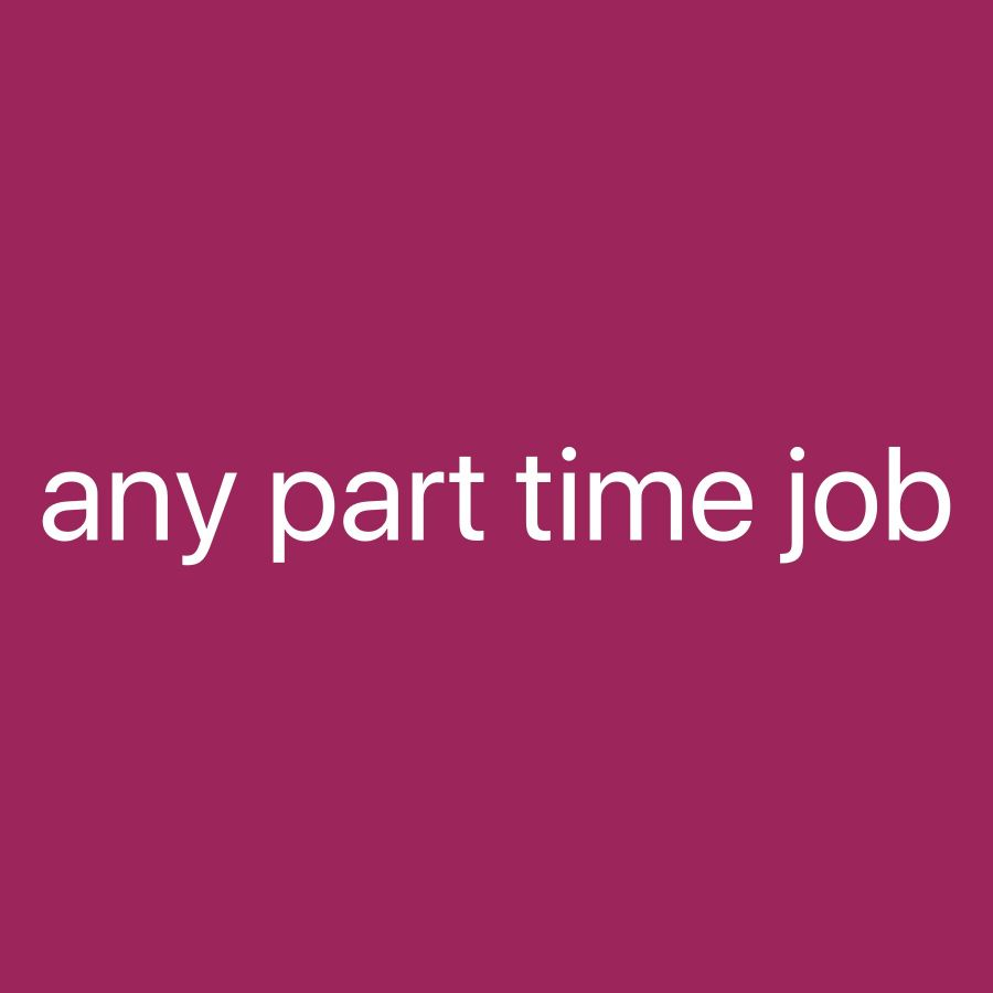 Looking for part time driving job