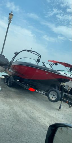 Jet boat scarab 255 with bathroom