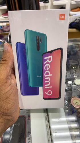 REDMI 9 4GB AND 128GB