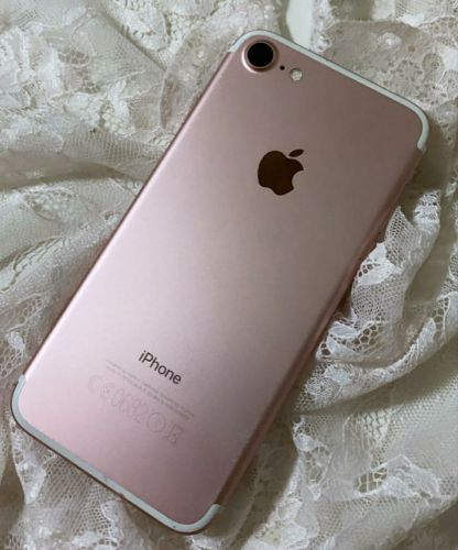 iphone7 128 rose pink with full box