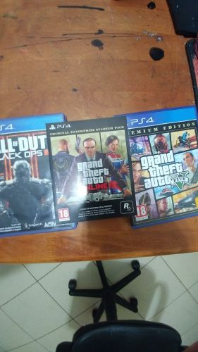 gta 5 with limitd card and COD 3