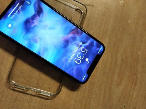 Iphone X with airpods 2nd Gen