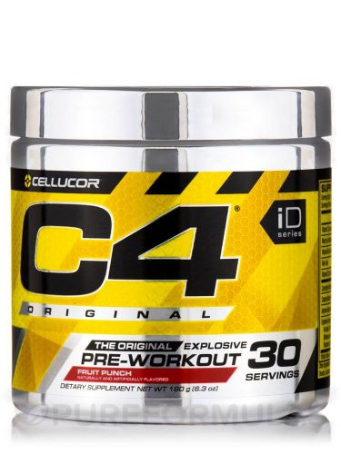C4 pre work out new sealed