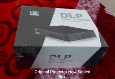 Smart3D DLP 1080p Projector with battery