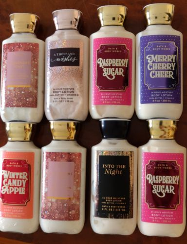 bath and body lotions. from USA