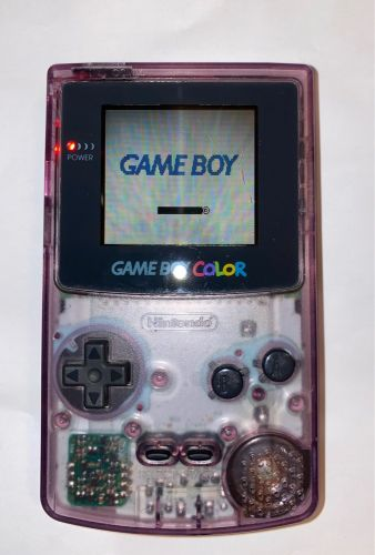 Atomic Purple Game boy Color