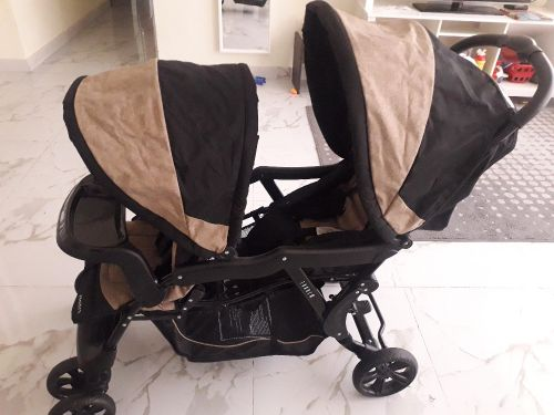 2 babies strollers same new