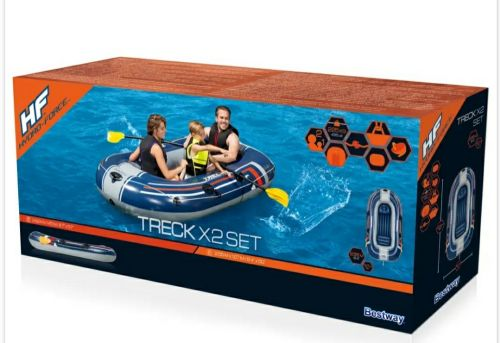 inflatable boat heavyduty with wood floor, bestway 2 time us