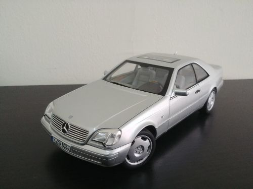1:18 97 MB cl600 model car