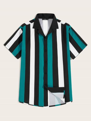 Short Sleeve Stripe for Men