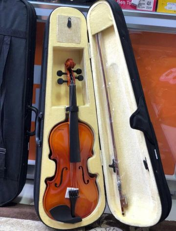 New 4/4 violin with full set