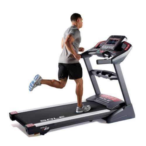 electric treadmill.