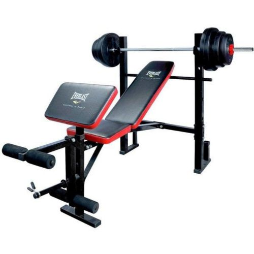 Weight bench.