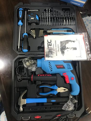 Impact drill with 52 pcs