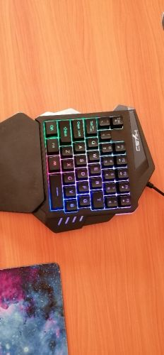 keyboard and mouse and headset with free mouse pad