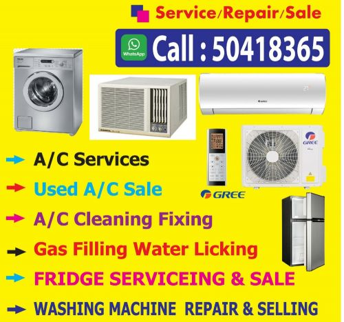 Air Condition Repar & Maintenance.