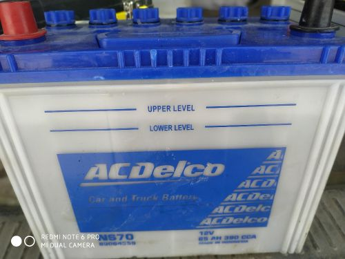 battery 70A Acdelco