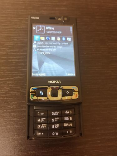 Nokia N95 8gb with charger and box
