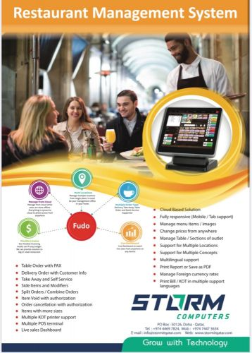 Restaurant and retail softwares