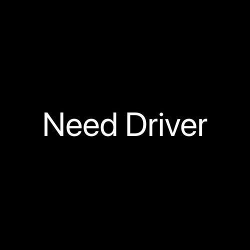 need driver for cleaning company boys